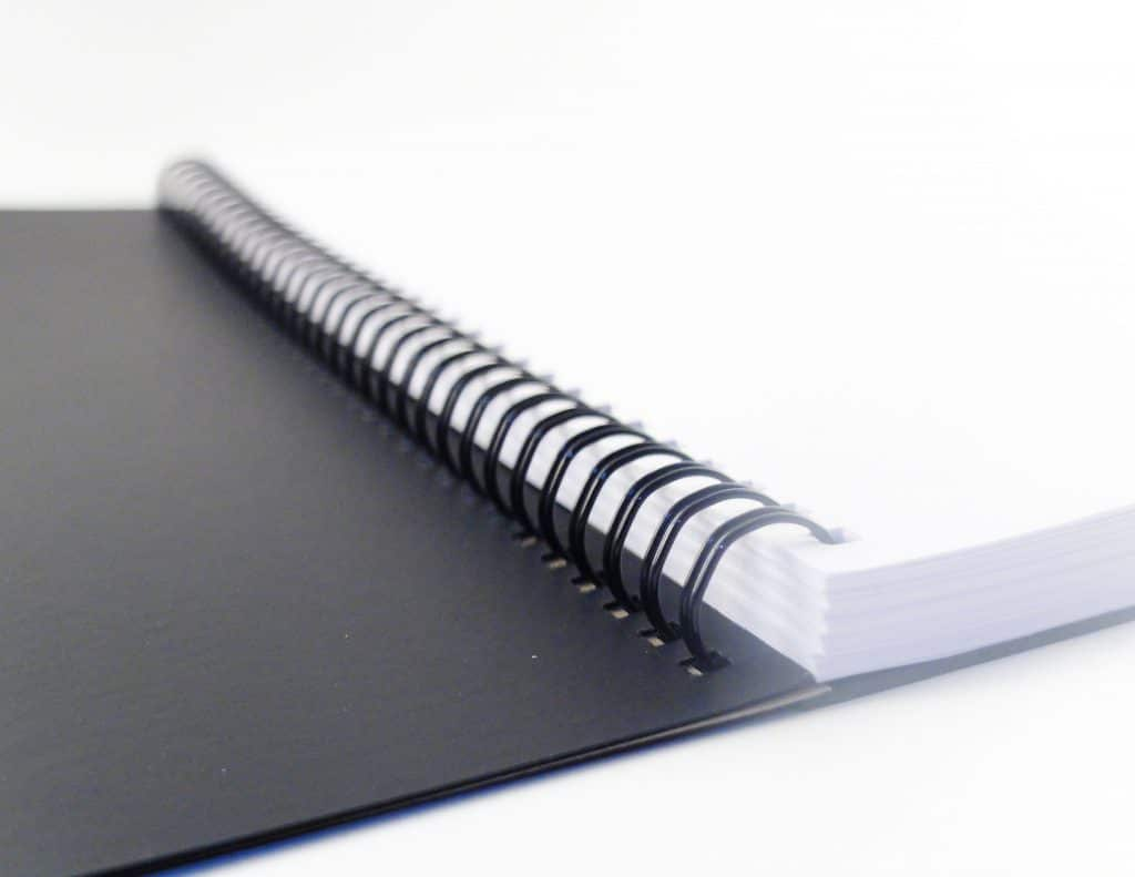 Notebook Without Lines