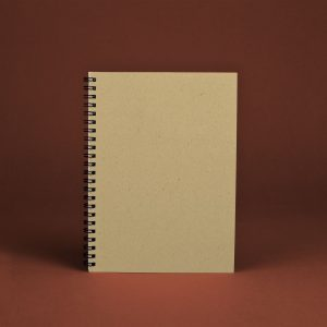 Original Softcover Kraft Unruled Notebook (Pack of 3)