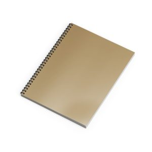 Emnotes Unruled Blank Notebook Without Lines, 8.5 x 11 inches, 70 Sheets, Recycled Softcover